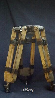 150mm Bowl Tripod Wood Baby Sticks Arri Oconnor Miller Vintage Film 35mm 16mm TV