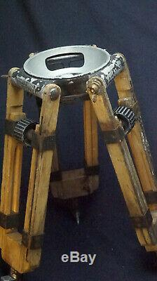 150mm Bowl Tripod Wood Baby Sticks Arri Oconnor Miller Vintage Film Panavision