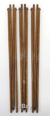 8x Holzstativ Wooden Tripod historisch vintage 1930 th Dekorativ tb010