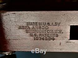 Agfa Ansco Vintage Wooden Tripod