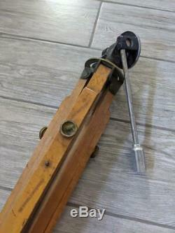 Antique 1800s wooden TRIPOD camera SCOVILL & ADAMS NY photography vintage