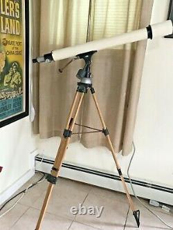 Antiques/Vintage Telescopes Goto Kogaku Japan F=900mm with Wood tripod