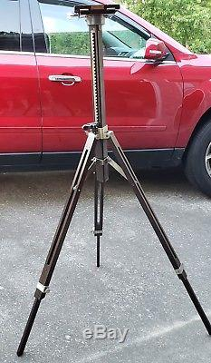 Beautiful Wooden Vintage 1900s Fully Functional Ansco Large Format Camera Tripod