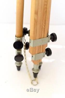 Berlebach Tripod Wooden Stativ Tripod Mulda Camera Head Vintage Tripod Wood