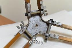 Big Wooden Tripod Lamp Decor Vintage German Tripod from WOOD