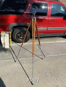 Craig Thalhammer Vintage Movie Photography Tripod Wood legs & Extensions