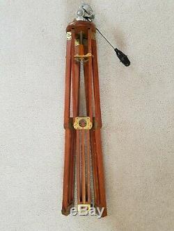Criag Thalhammer vintage wooden tripod