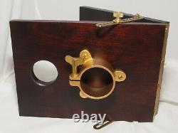 Crown-Graflex Vintage Camera Stand Tilting Tripod Head. New in Box Unused