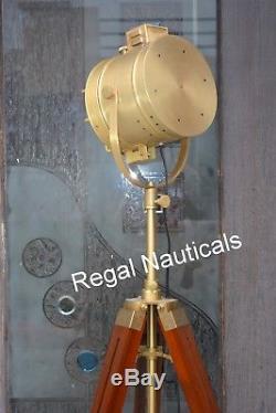 Designer Antique Tripod Floor Lamps Searchlight Vintage Floor Spot Searchlight