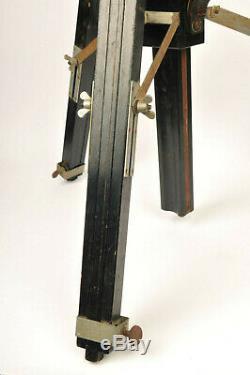 Gandolfi Style Vintage Wooden Tripod