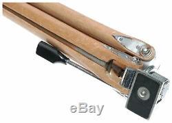 Hanimex camera tripod retro wooden vintage heavy duty