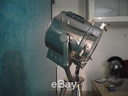 Hollywood Nautical Vintage Searchlight Steel Floor Lamp Spotlight Floor Tripod