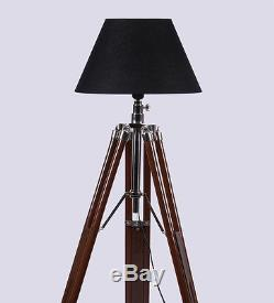 Hollywood Spot Light Floor Lamp With Tripod Stand Vintage Collectible