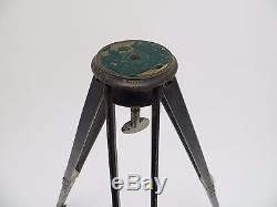 Holz Stativ Wooden Tripod Dreibein Holzstativ Vintage 1930th 55 130cm wt164
