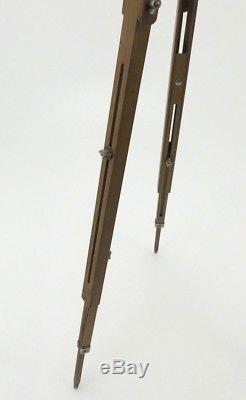 Holzstativ Wooden Tripod Stativ Vintage 77 cm 128 cm ta036