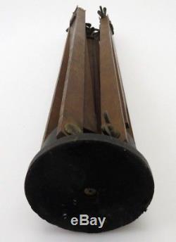 Holzstativ Wooden Tripod Stativ Vintage 90 cm 126 cm ta037