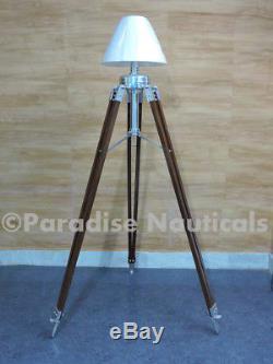 Indoor Guestroom Decorative Industrial Metal Tripod Floor Lamp Vintage