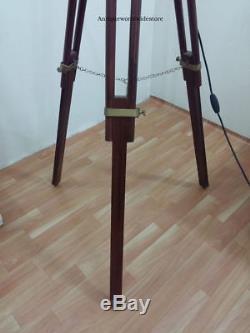 Industrial Style Vintage Movie Spot Light Floor Standing Tripod Lamp