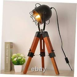 Industrial Vintage Small Tripod Table Lamps for Living Room Tripod Table lamp