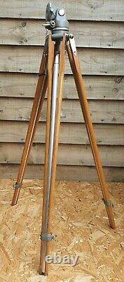 MPP Vintage Wooden Tripod With Head, photography, Lamp Stand