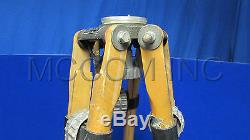 Miller 320 Vintage Single Stage Wooden Tripod Legs Only Parts/ Props