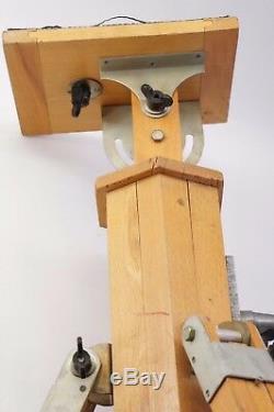 NO CAMERA! Russian USSR Vintag Wooden tripod for the camera FKD EX