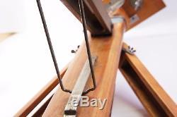 NO CAMERA! Russian Vintag Wooden tripod FKD 1950-1960 of the last century