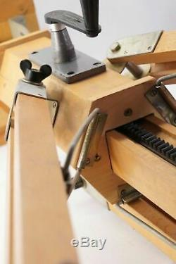 NO CAMERA! Russian Vintag Wooden tripod for the camera FKD EX! Genuine CASE