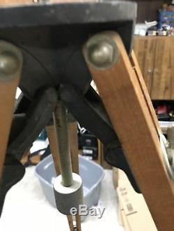 Otto Engineering Vintage Wooden Tripod! Sturdy! Great Condition