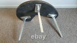 RARE mid century 1960s tripod retro unique side table vintage