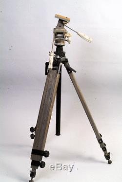 Rare Vintage Berlebach Rollei PT 128 Wooden Tripod + GITZO RNo2 Head