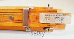 Rare condition, vintage 1956 Soviet wooden FKD camera tripod