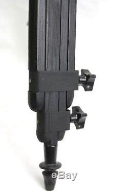Rare/unusual/prototype Bolex Paillard vintage wooden tripod/head