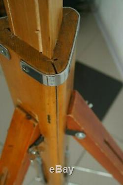 Samera not included! Vintag Wooden tripod FKD 1950-1960 of the last century