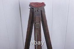 Soviet wooden tripod for vintage camera FKD