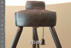 Superb! MID Century Danish Modern Tripod Lamp! Atomic Desk Vtg 50's Light 60's