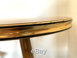Tripod Mid Century Plant Stand Table Display Side End Table Formica Vintage 50s