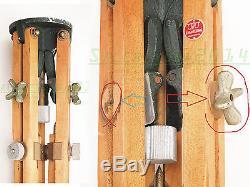 VINTAGE Wood Tripod Otto Engineering, Inglewood California. Tripode + Head
