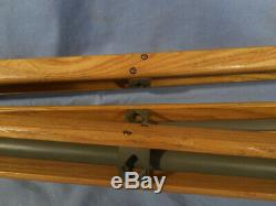 VTG Tripod Military Wood&Metal Adjustable 35-63 WWII or I Binoculars/Camera