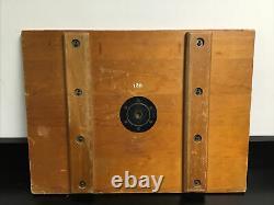 Vintage 24x 18 Wooden Tray Plane Table Camera/Surveyor Tripod