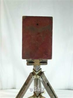 Vintage Agfa Ansco Wooden Tripod