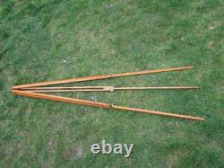Vintage Antique Camera Tripod Wooden Telescopic Easily Adjusted