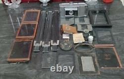 Vintage Antique Eastman Kodak No 2 Wooden Tripod with Land Camera Adapter Parts