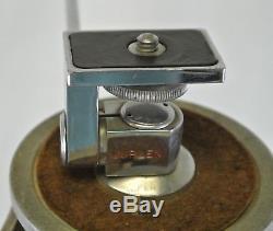 Vintage Antique Wood & Aluminum Extendable Tripod Camera Surveyor Transit