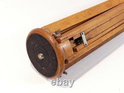 Vintage Antique Wooden Tripod For Plate Camera Thornton Pickard Sanderson Etc P