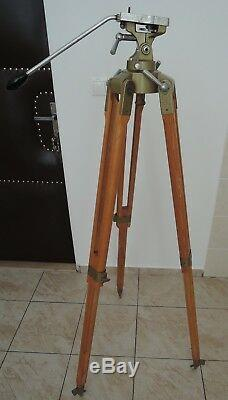 Vintage Berlebach Mulda Tripod Stativ Photostativ Wood Tripod
