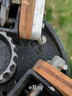 Vintage Camart Scout Surveyors Wooden Tripod Rare Antique