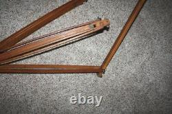 Vintage Davidson Swing Tilt Pan Camera Tripod Head w Wooden Tripod Nice