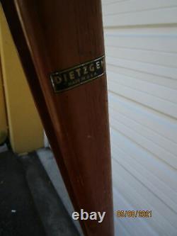 Vintage Dietzgen Wooden Survey Tripod