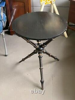 Vintage English Tripod Side Table by Rumney & Love Liverpool